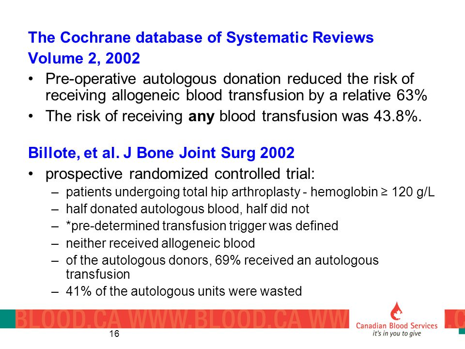 The Cochrane database of Systematic Reviews Volume 2, 2002