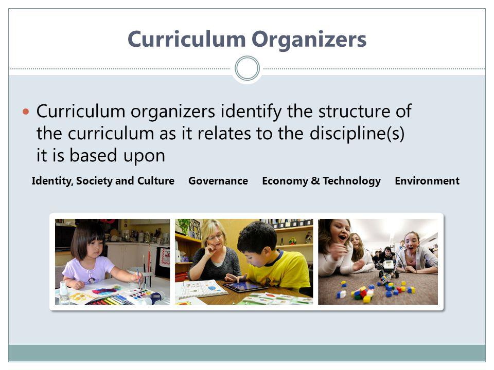 Curriculum Organizers