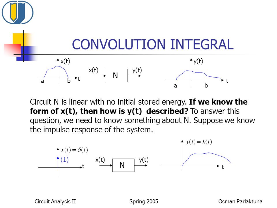 CONVOLUTION INTEGRAL N