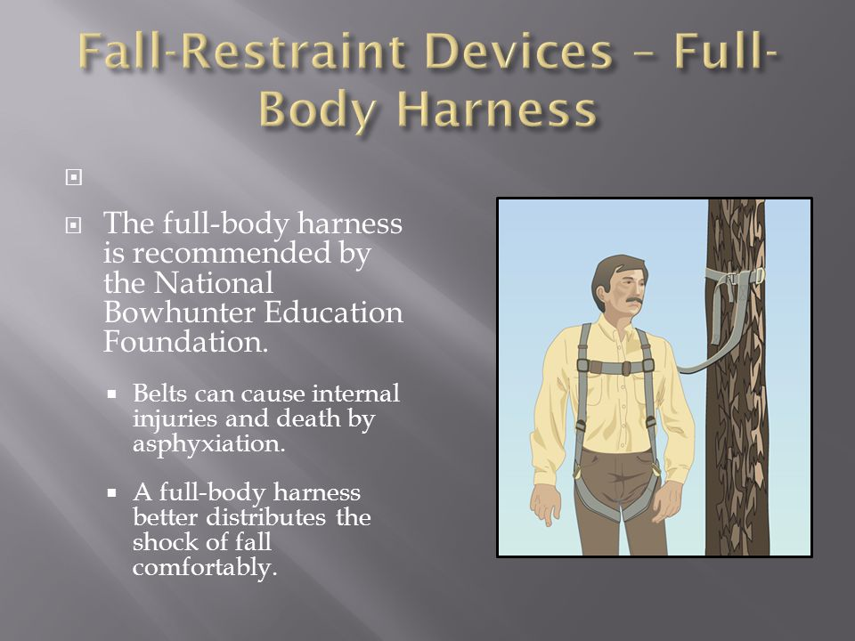 Fall-Restraint Devices – Full-Body Harness