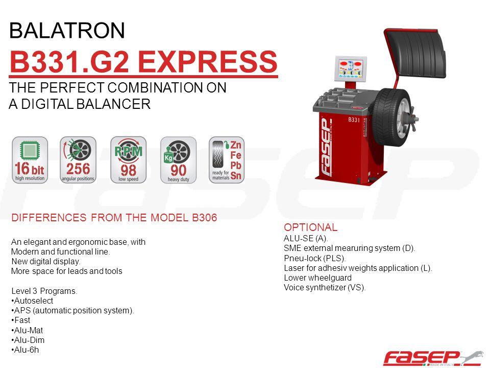 B331.G2 EXPRESS BALATRON THE PERFECT COMBINATION ON A DIGITAL BALANCER