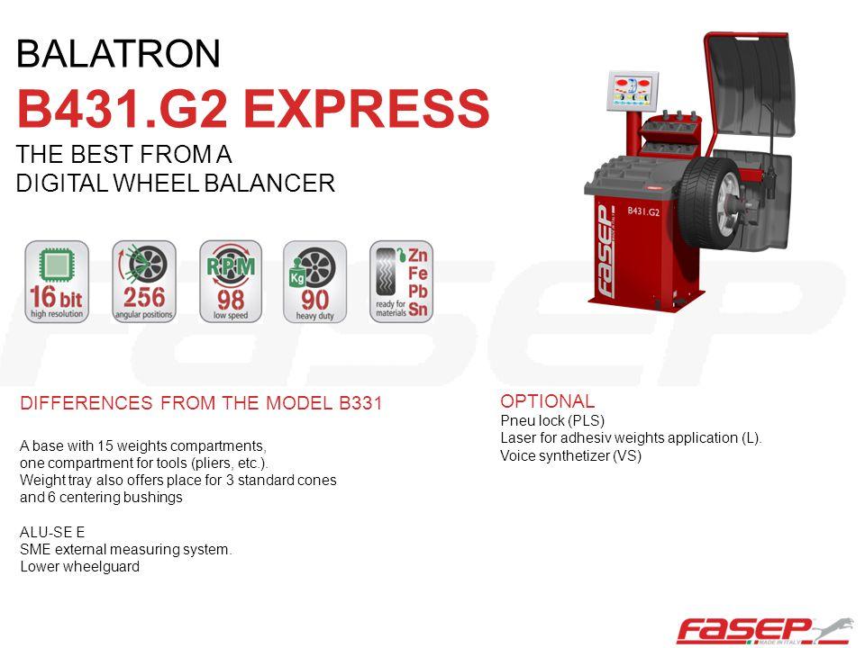 B431.G2 EXPRESS BALATRON THE BEST FROM A DIGITAL WHEEL BALANCER