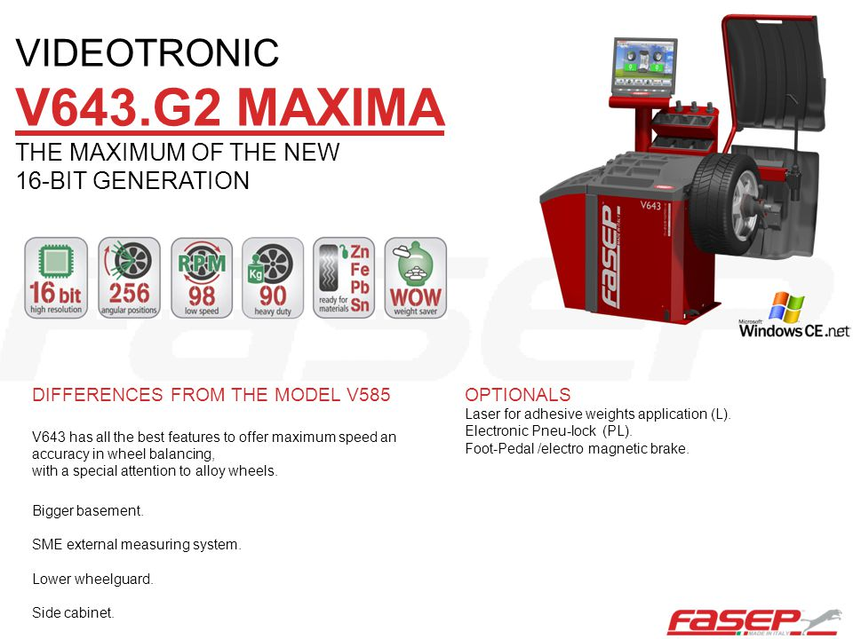 V643.G2 MAXIMA VIDEOTRONIC THE MAXIMUM OF THE NEW 16-BIT GENERATION