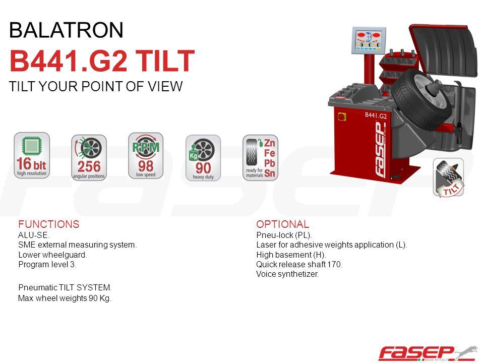 BALATRON B441.G2 TILT TILT YOUR POINT OF VIEW