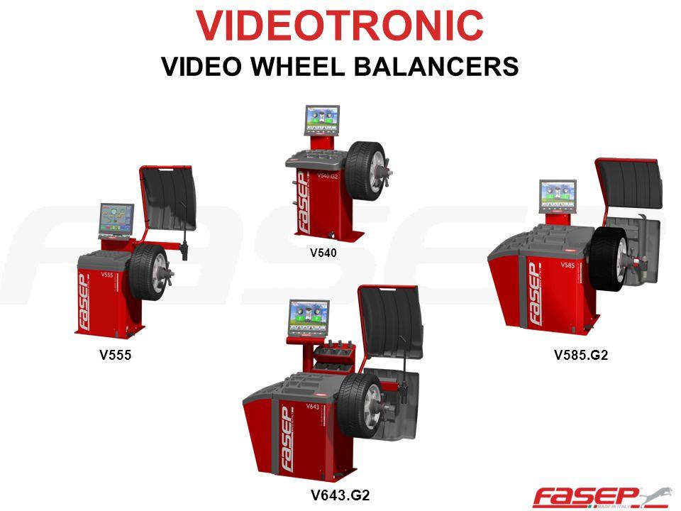 VIDEOTRONIC VIDEO WHEEL BALANCERS