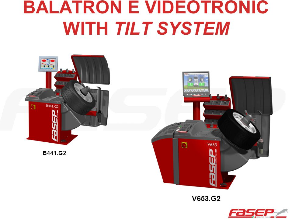 BALATRON E VIDEOTRONIC WITH TILT SYSTEM