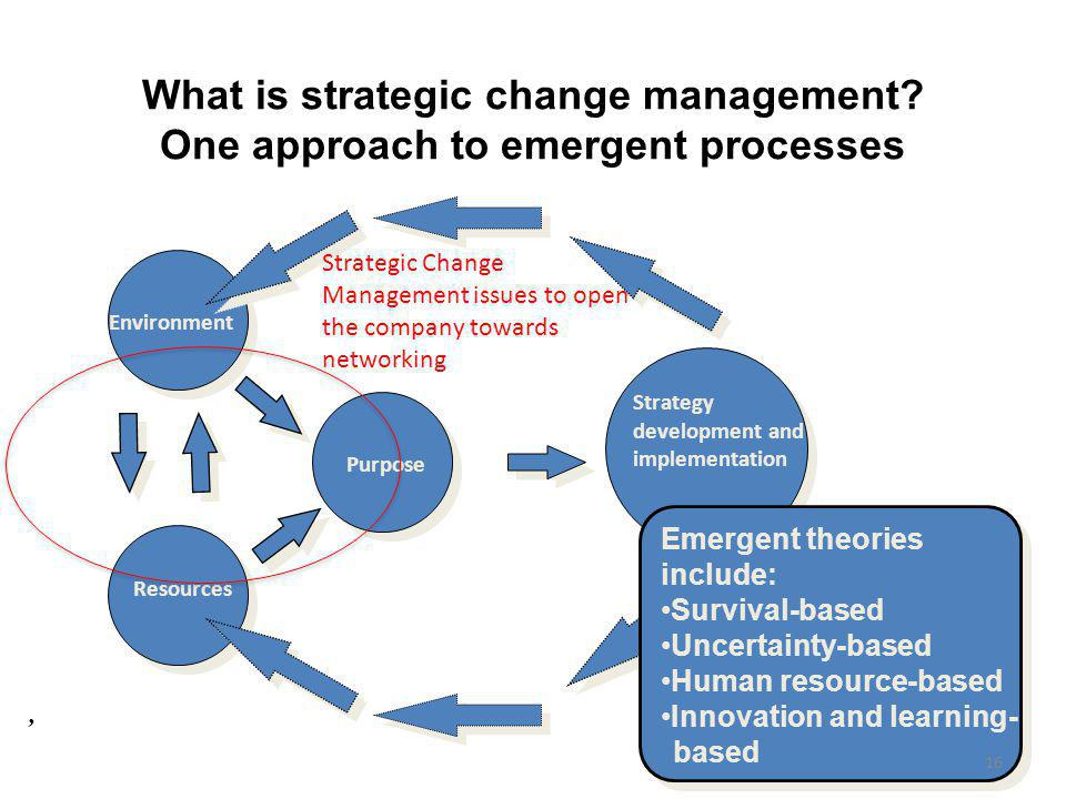 perspectives of strategic change management Strategic change is a key concern in the fields of management and  this  perspective aims to offer a more balanced approach, viewing.