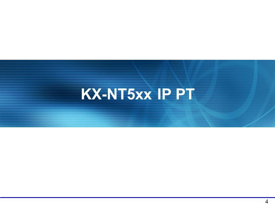KX-NT5xx IP PT