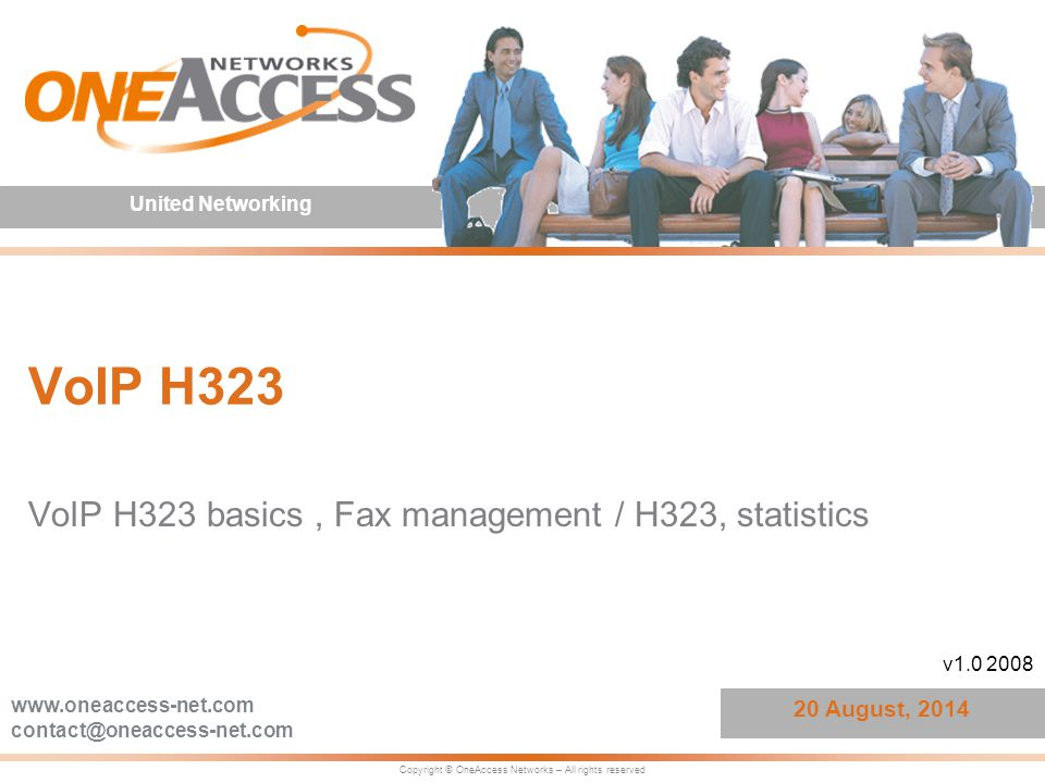 VoIP H323 basics , Fax management / H323, statistics