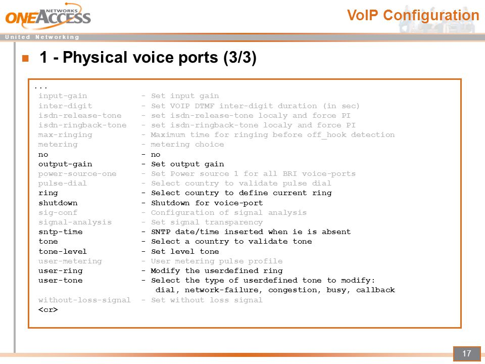 1 - Physical voice ports (3/3)