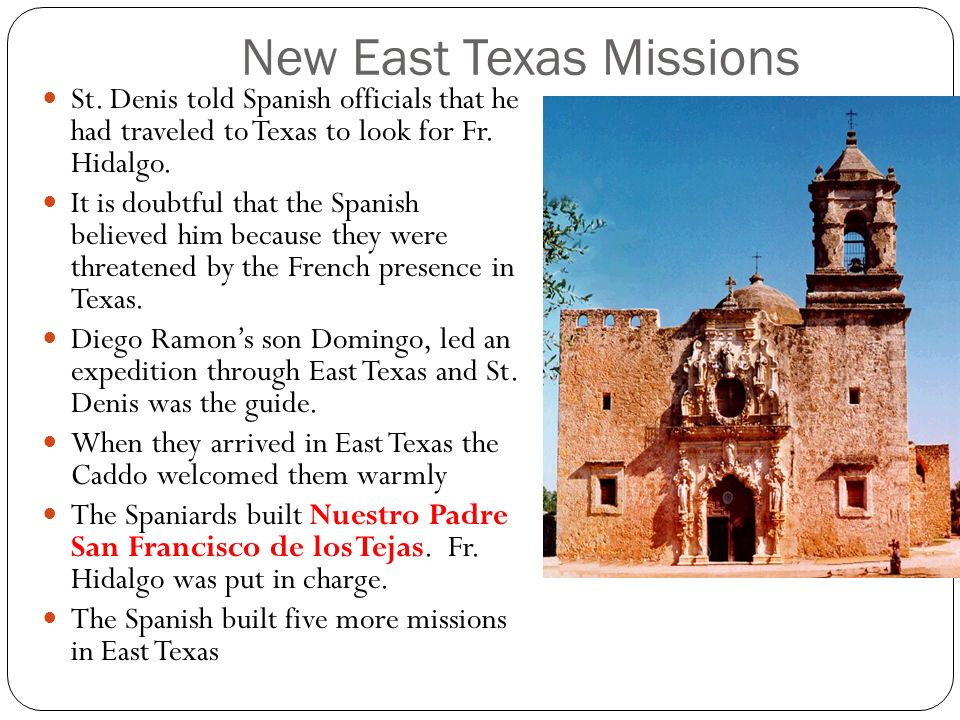New East Texas Missions