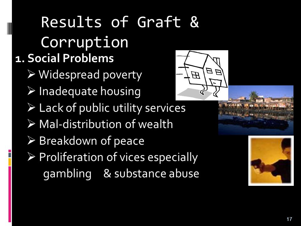 Results of Graft & Corruption