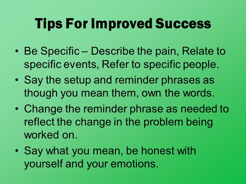 Tips For Improved Success