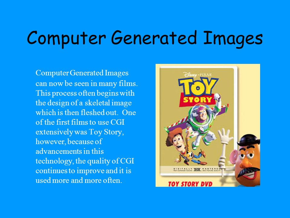 Computer Generated Images