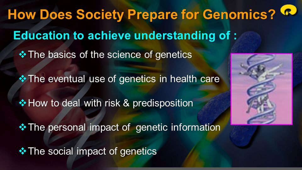 How Does Society Prepare for Genomics