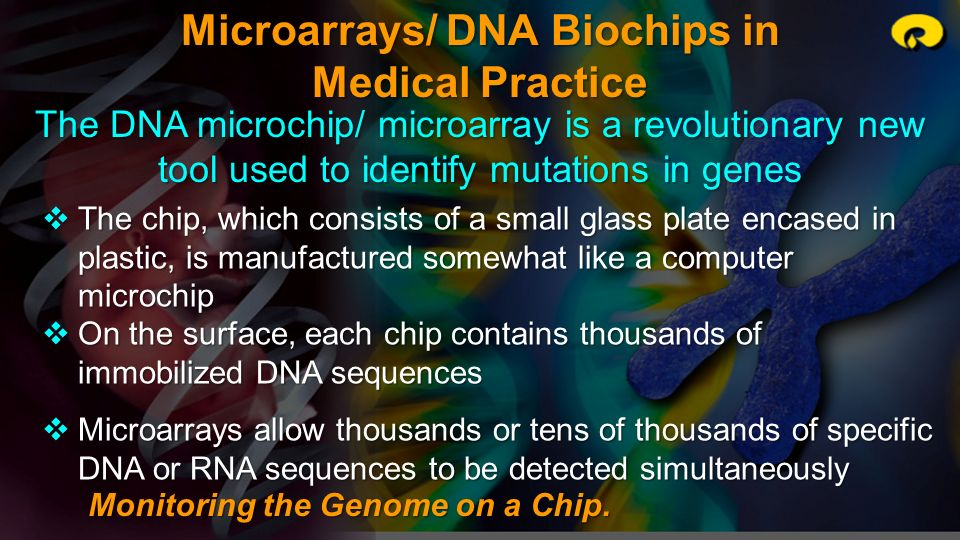Microarrays/ DNA Biochips in Medical Practice
