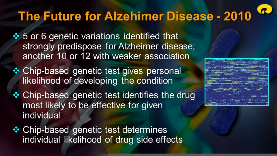 The Future for Alzehimer Disease - 2010