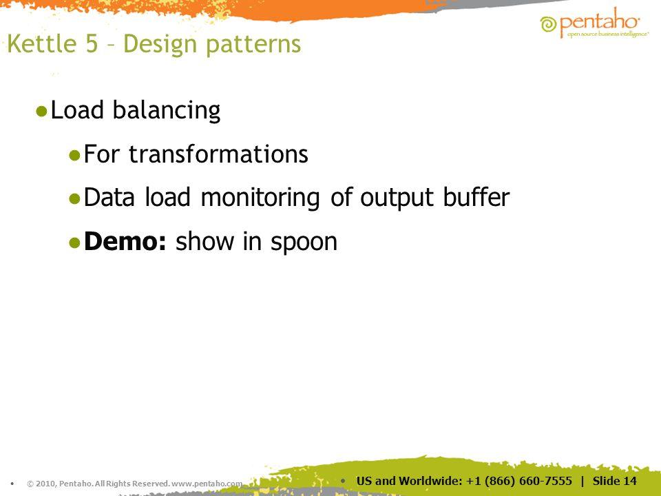 Kettle 5 – Design patterns