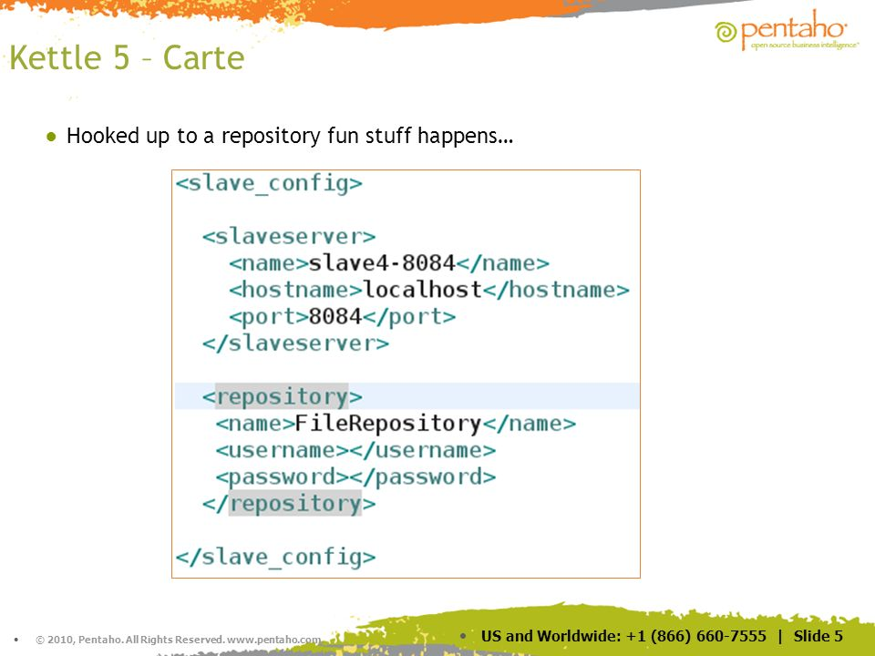 Kettle 5 – Carte Hooked up to a repository fun stuff happens… 5