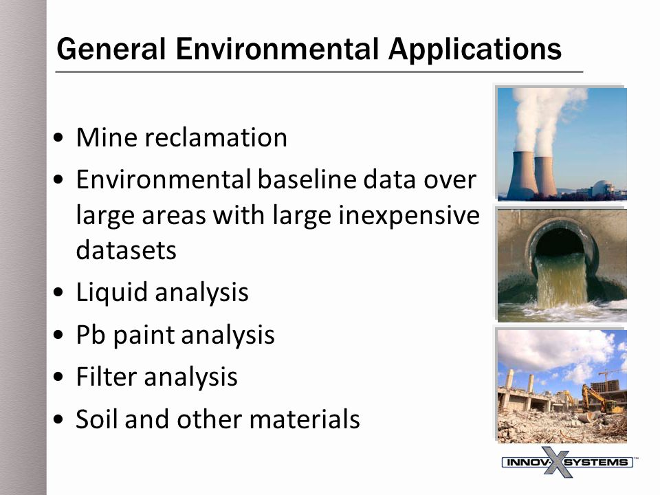 General Environmental Applications