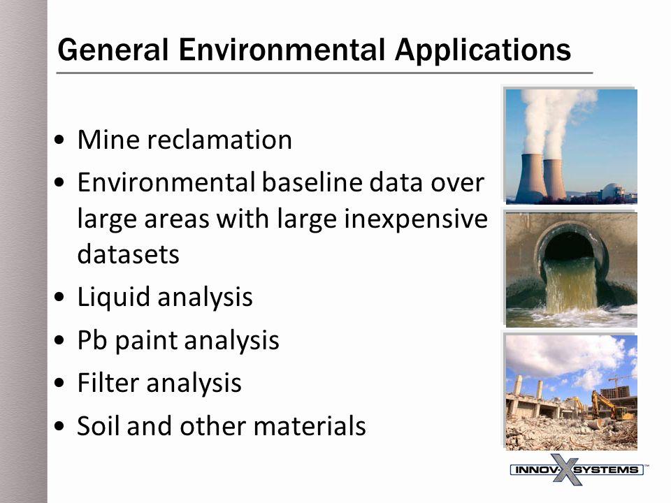 General Environmental Applications