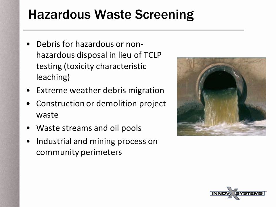 Hazardous Waste Screening
