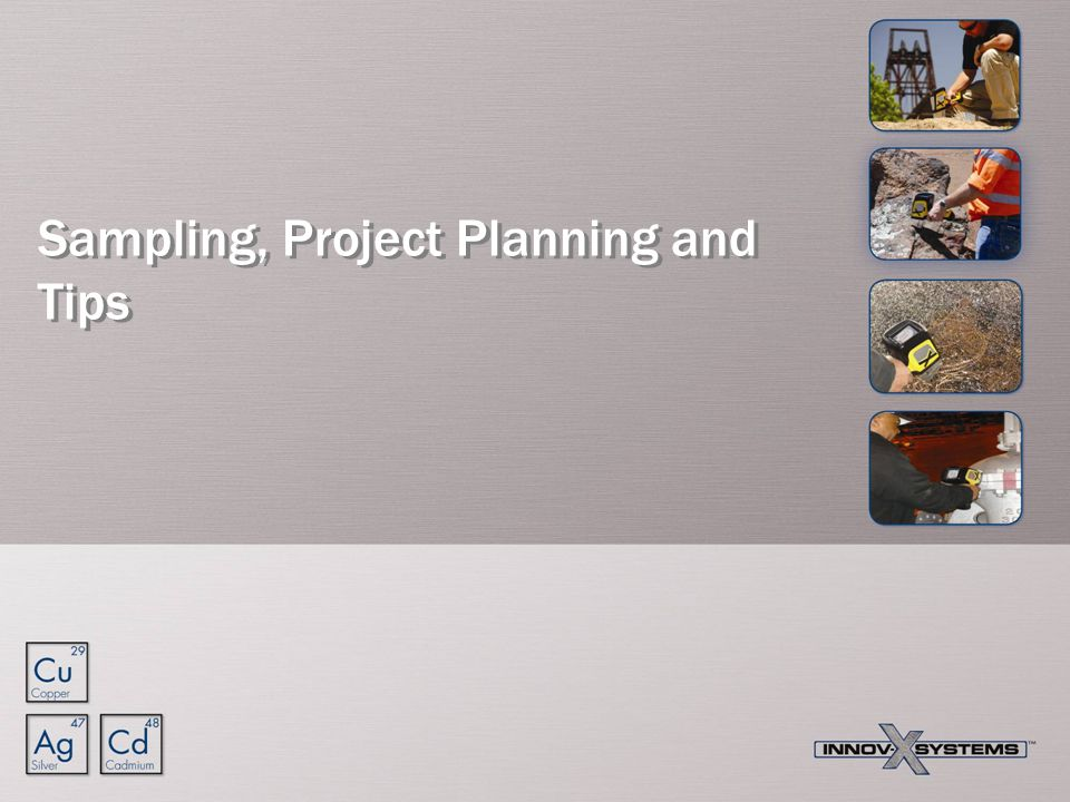 Sampling, Project Planning and Tips