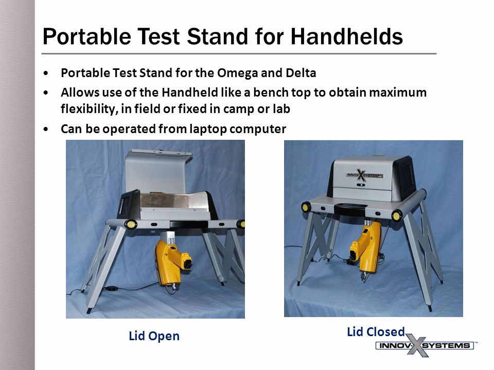Portable Test Stand for Handhelds