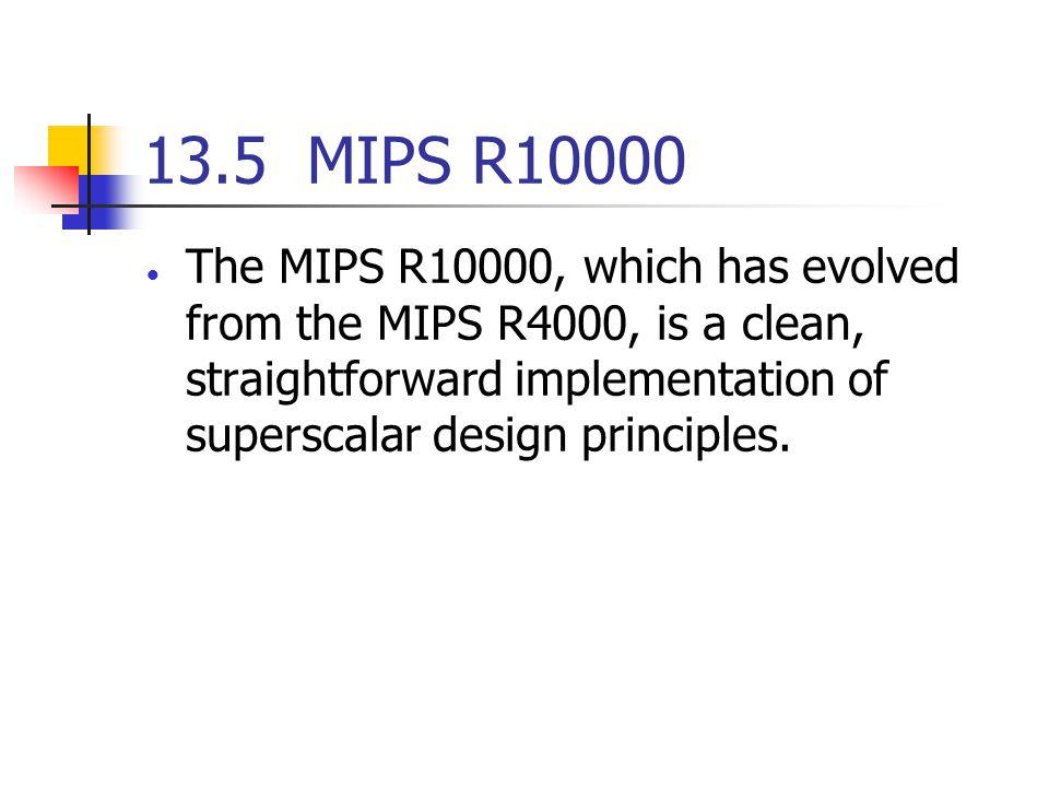 13.5 MIPS R10000