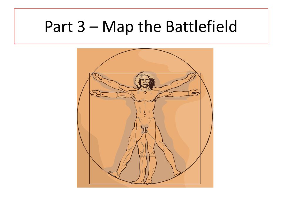 Part 3 – Map the Battlefield