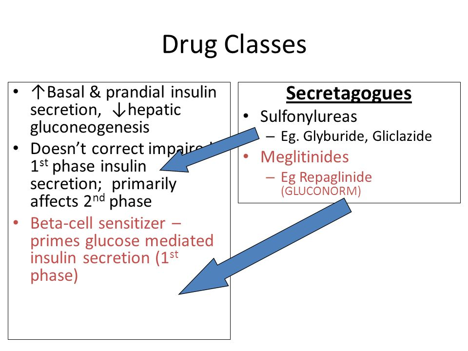 Drug Classes Secretagogues