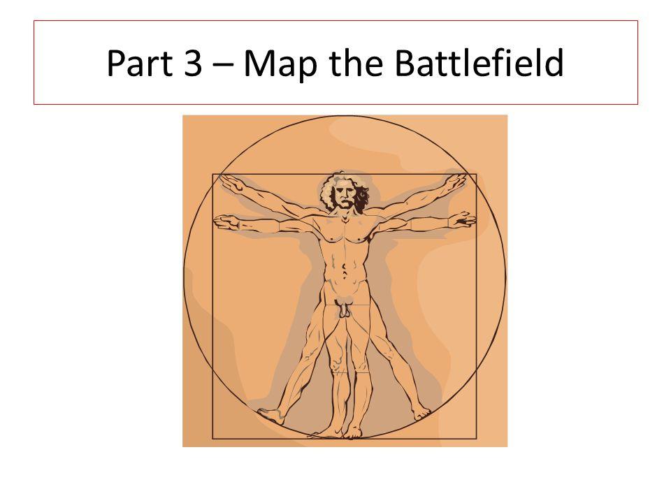 Part 3 – Map the Battlefield