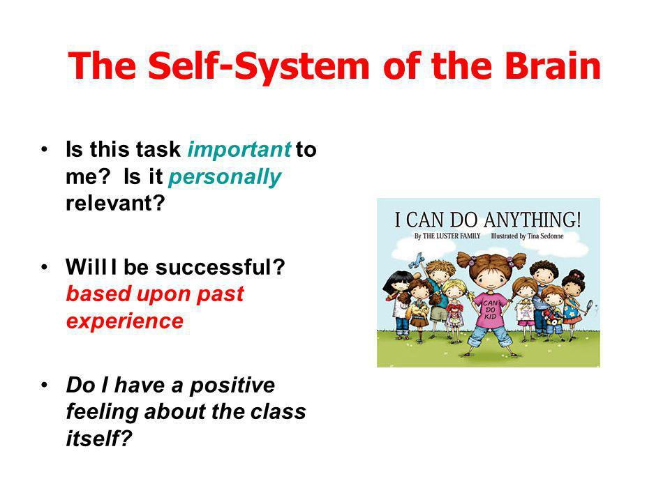 The Self-System of the Brain