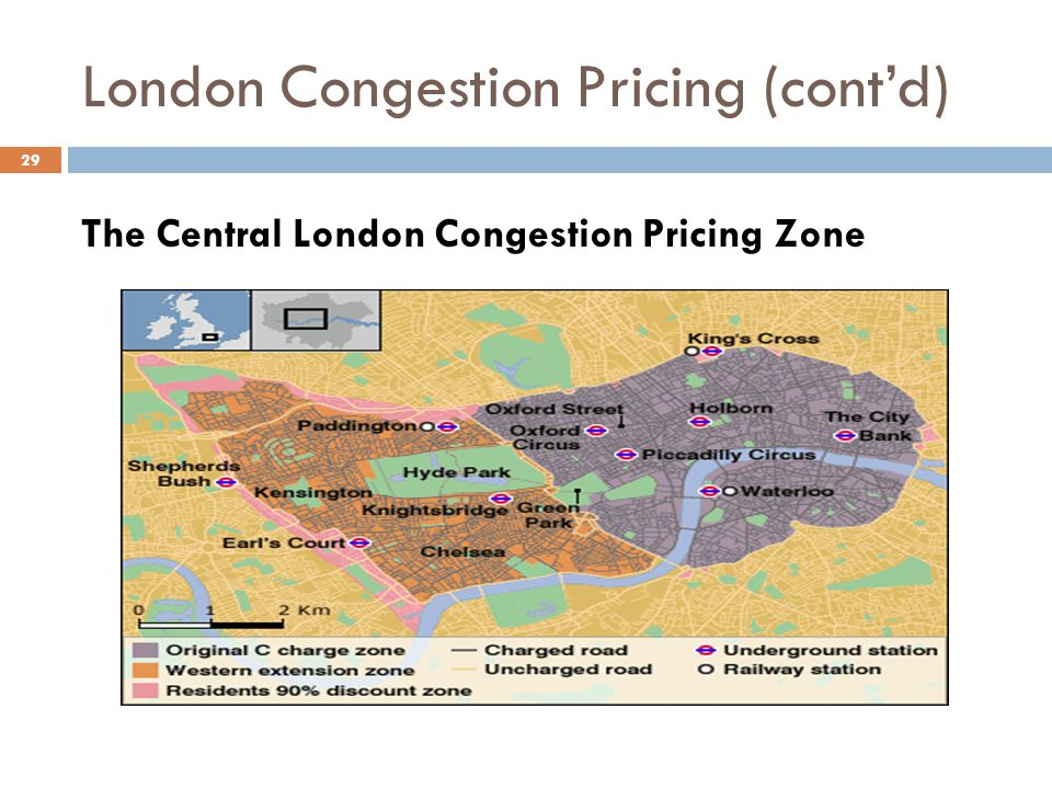 London Congestion Pricing (cont'd)
