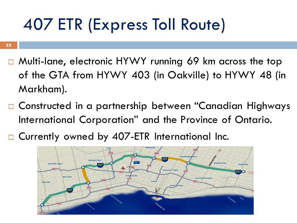 407 ETR (Express Toll Route)