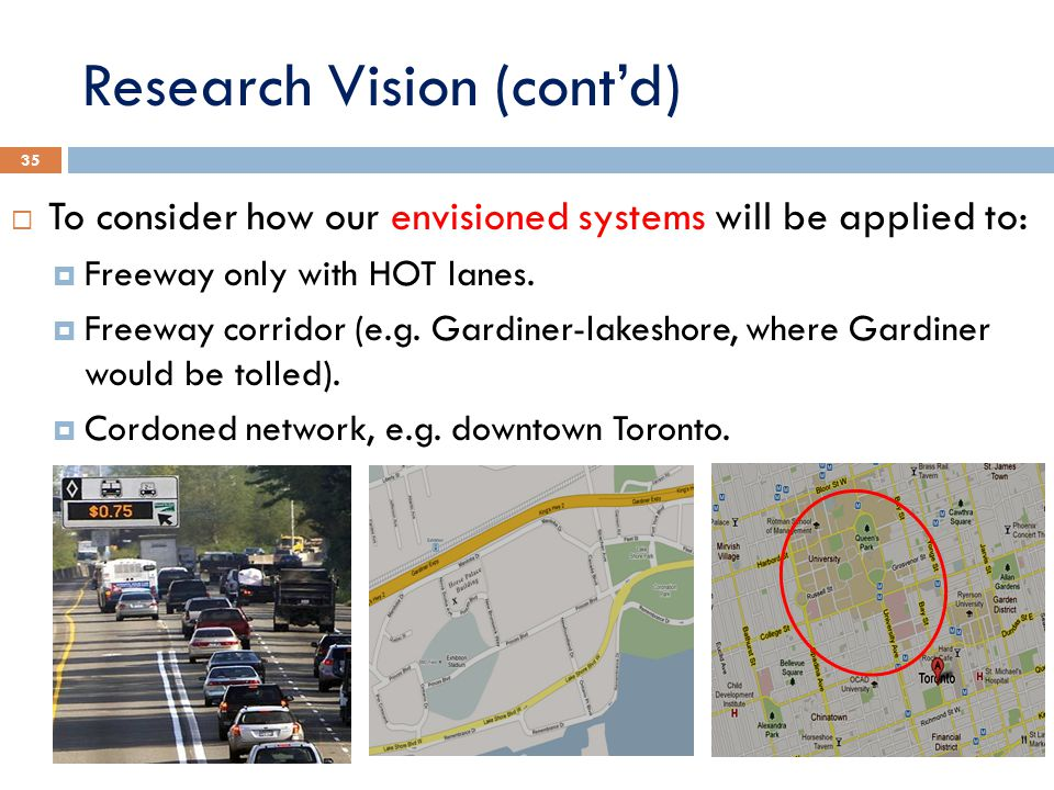 Research Vision (cont'd)