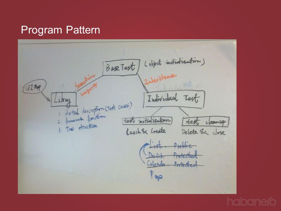 Program Pattern