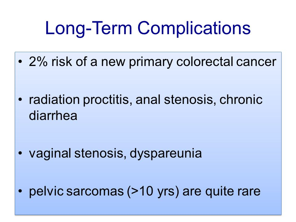 Long-Term Complications