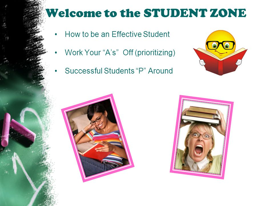 Welcome to the STUDENT ZONE