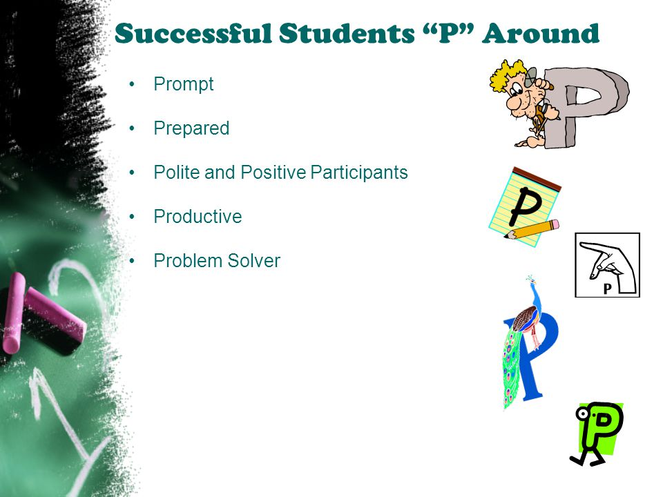 Successful Students P Around