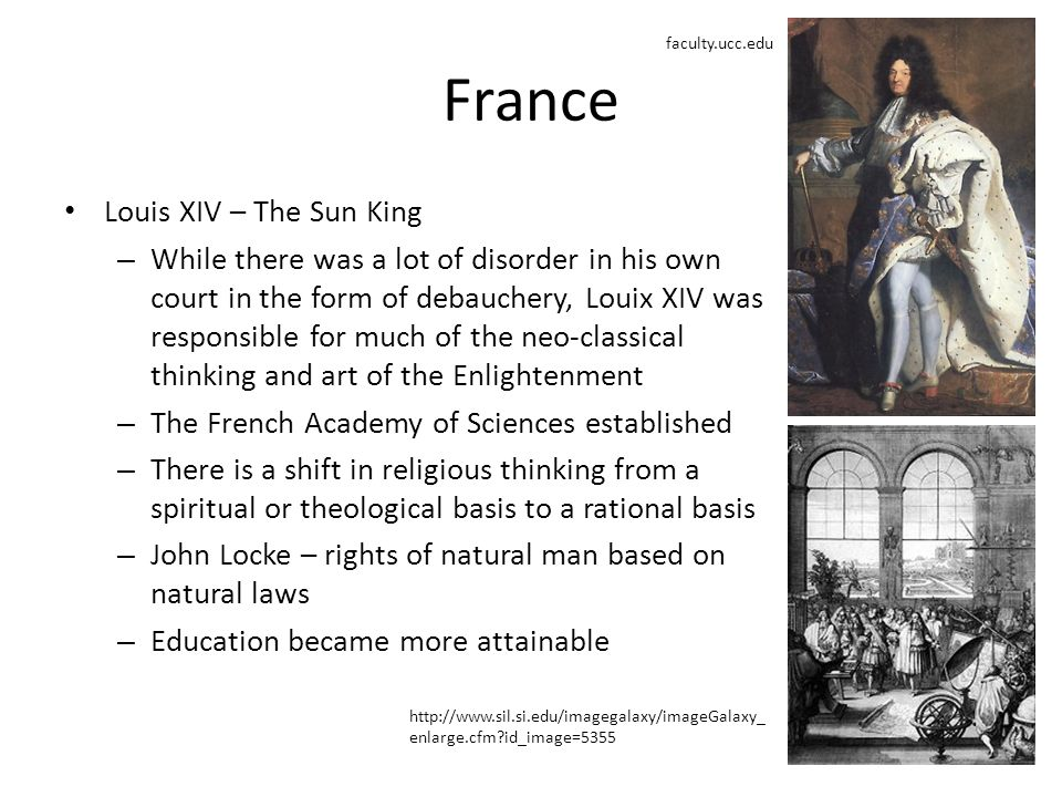 France Louis XIV – The Sun King