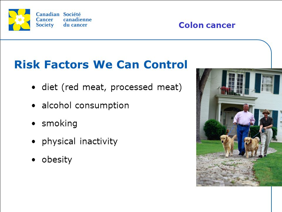 Risk Factors We Can Control