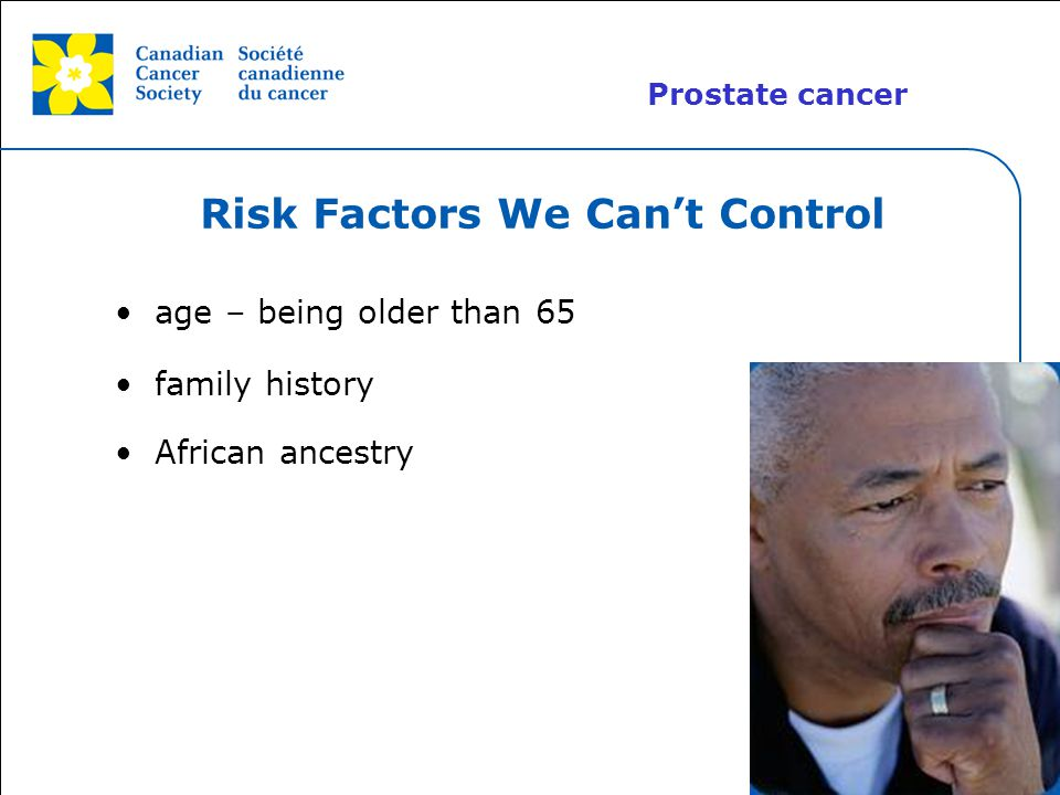 Risk Factors We Can't Control