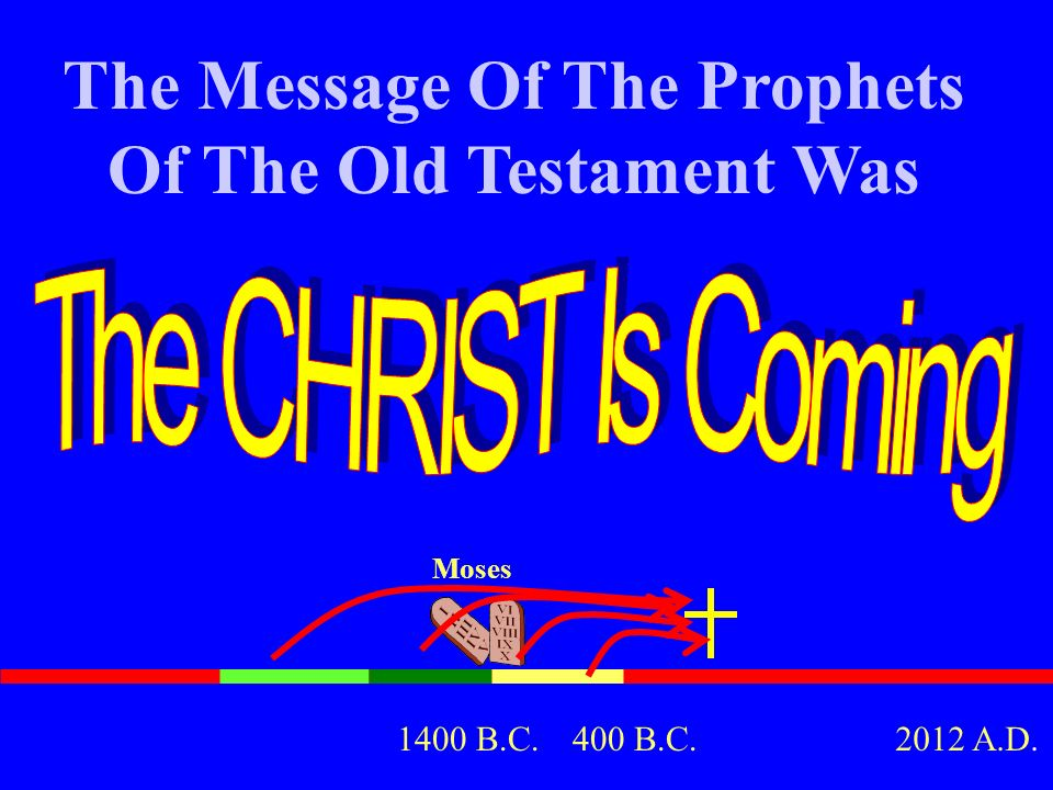 The Message Of The Prophets Of The Old Testament Was