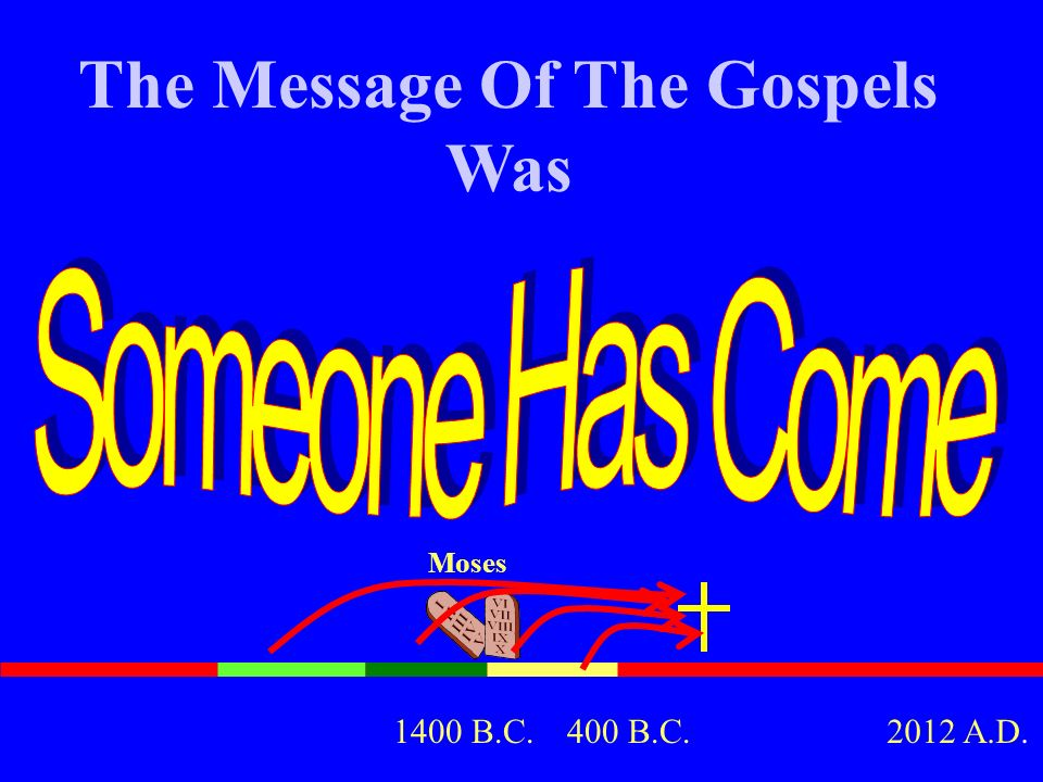 The Message Of The Gospels Was