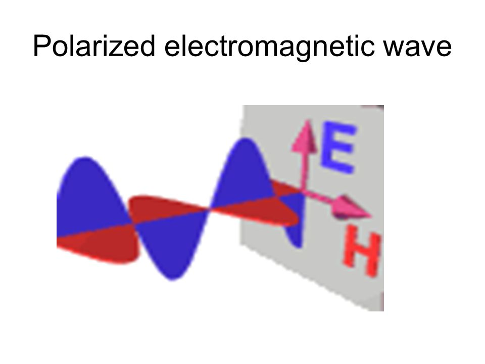 Polarized electromagnetic wave