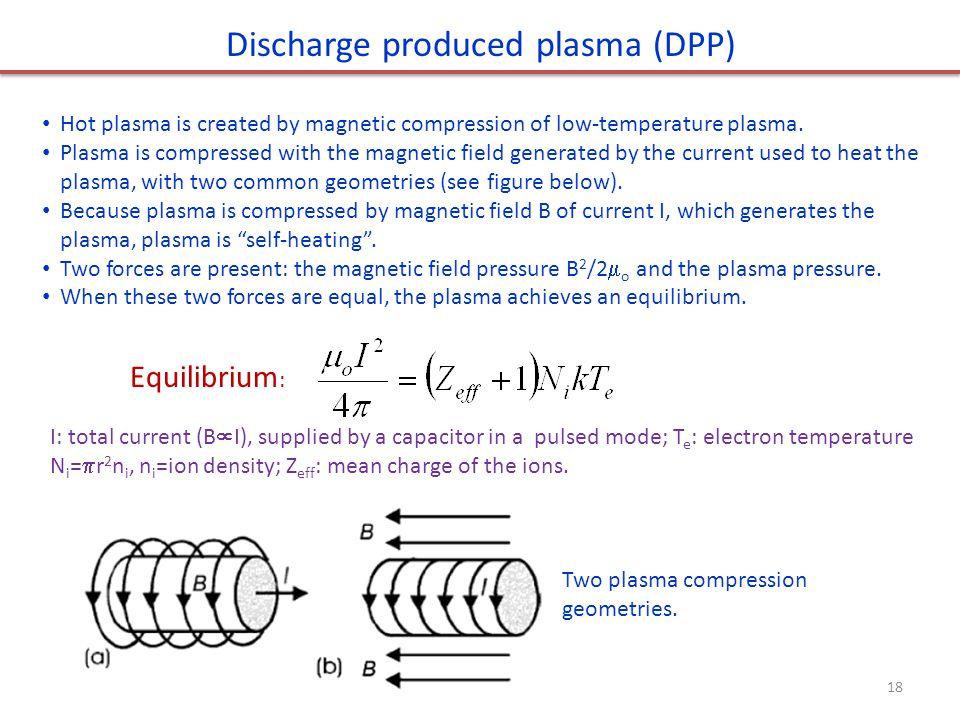 Discharge produced plasma (DPP)