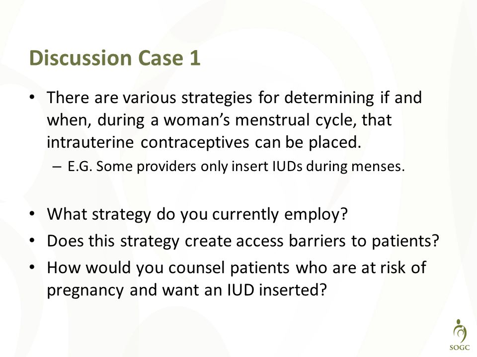 Discussion Case 1