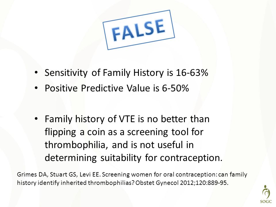 FALSE Sensitivity of Family History is 16-63%