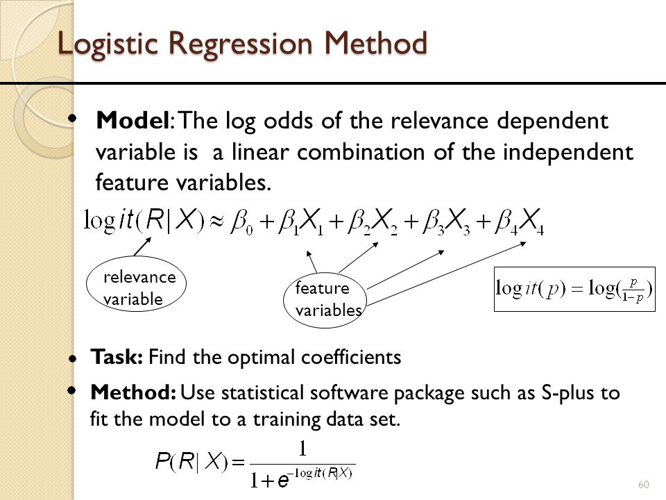 Logistic Regression Method